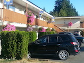 Motels in Parksville
